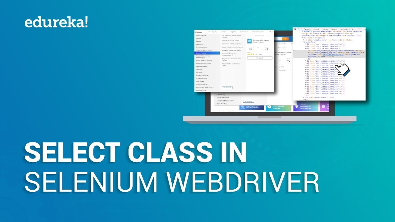 Select Class In Selenium WebDriver | How To Handle Dropdown In Selenium  WebDriver | Edureka
