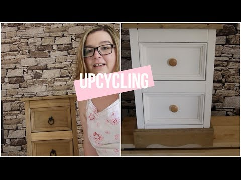 Upcycling Mexican Pine Corona Bedside Cabinet