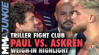 Jake Paul vs. Ben Askren final faceoff - with a robot | Triller Fight Club