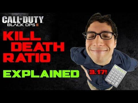 kill death ratio explained black ops 2 high kd youtube. Black Bedroom Furniture Sets. Home Design Ideas