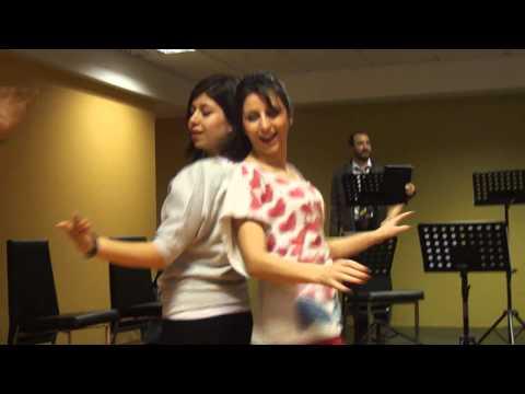 Hasan Saz Dance at Konya University: Video by Manoucher Khosrowshahi