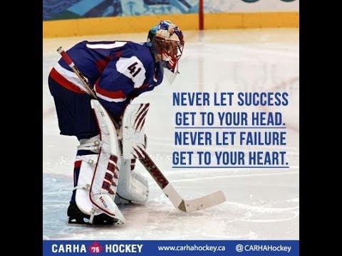 Hockey Goalie Motivational Video