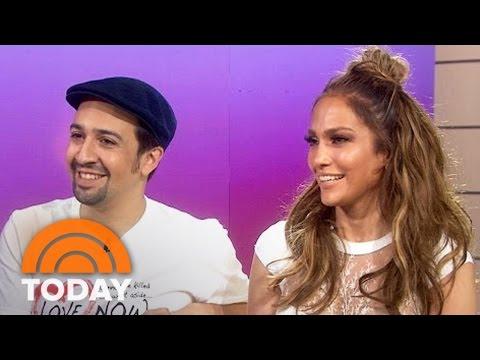 Jennifer Lopez: I 'Stalked' Lin-Manuel Miranda Into Singing With Me | TODAY