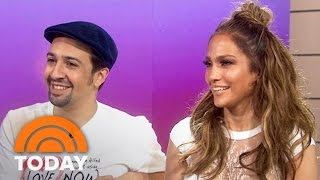 Jennifer Lopez: I 'Stalked' Lin-Manuel Miranda Into Singing With Me | TODAY