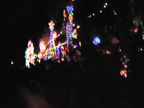 Christmas Display in Los Angeles