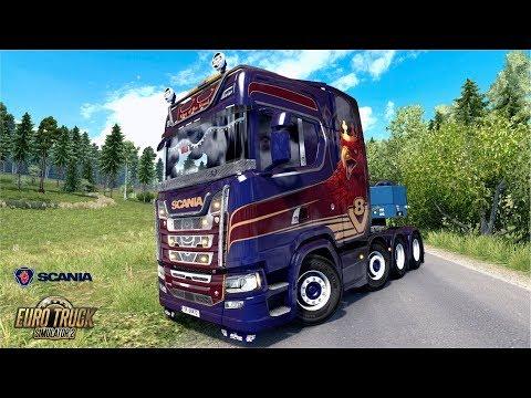ETS2 1.31 Open Beta Scania S730 Heavy Haulage Reims - Dijon