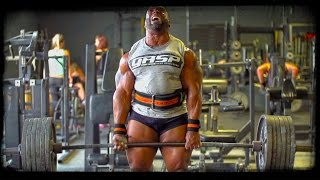 Johnnie O. Jackson DEADLIFT in SUPER-SLOW-MOTION