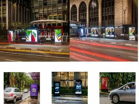 Sao Paulo Bus Shelters, outdoor advertising, OOH, out of home EXCEPTION!