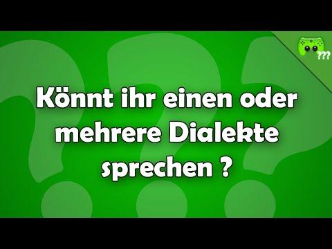 Könnt ihr einen oder mehrere Dialekte sprechen ? - Frag PietSmiet ?!