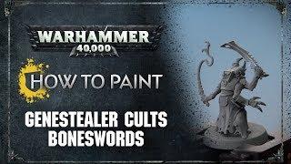 How to Paint: Genestealer Cults Boneswords