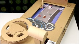 How To Make Car Racing Desktop Game from Cardboard! Stage 2