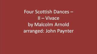 Four Scottish Dances -- II Vivace/Carrollton Wind Symphony