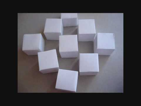 Exceptionnel How to make the origami moving cubes - YouTube PK76