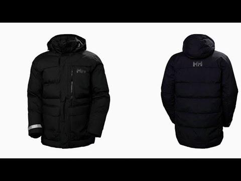 Helly Hansen Tromsoe (Чёрный нуар).Мужская зимняя куртка.