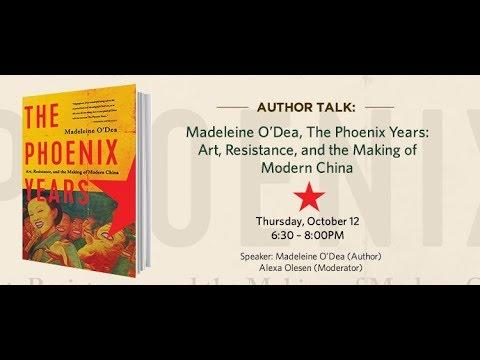 Author Talk  Madeleine O'Dea, The Phoenix Years 10.12