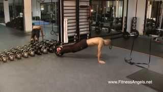12 упражнений с функциональным роликом Power Wheel