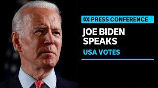 Joe Biden speaks after securing Electoral College victory | ABC News