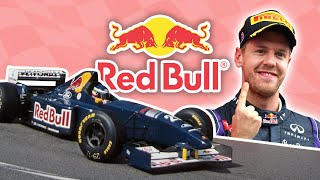The History of Red Bull in Formula 1
