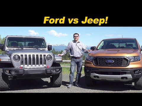 2019 Ford Ranger v 2020 Jeep Gladiator | A Quick Look