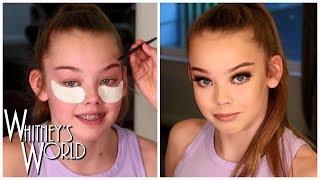 Gymnast Glam Makeup Tutorial | Whitney Bjerken