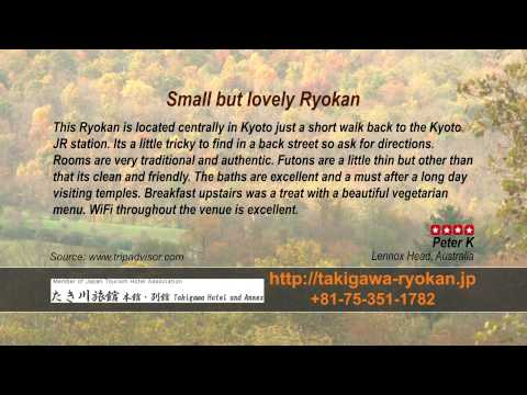 Takigawa Ryokan - REVIEWS - Kyoto Ryokan & Onsen Kyoto Reviews