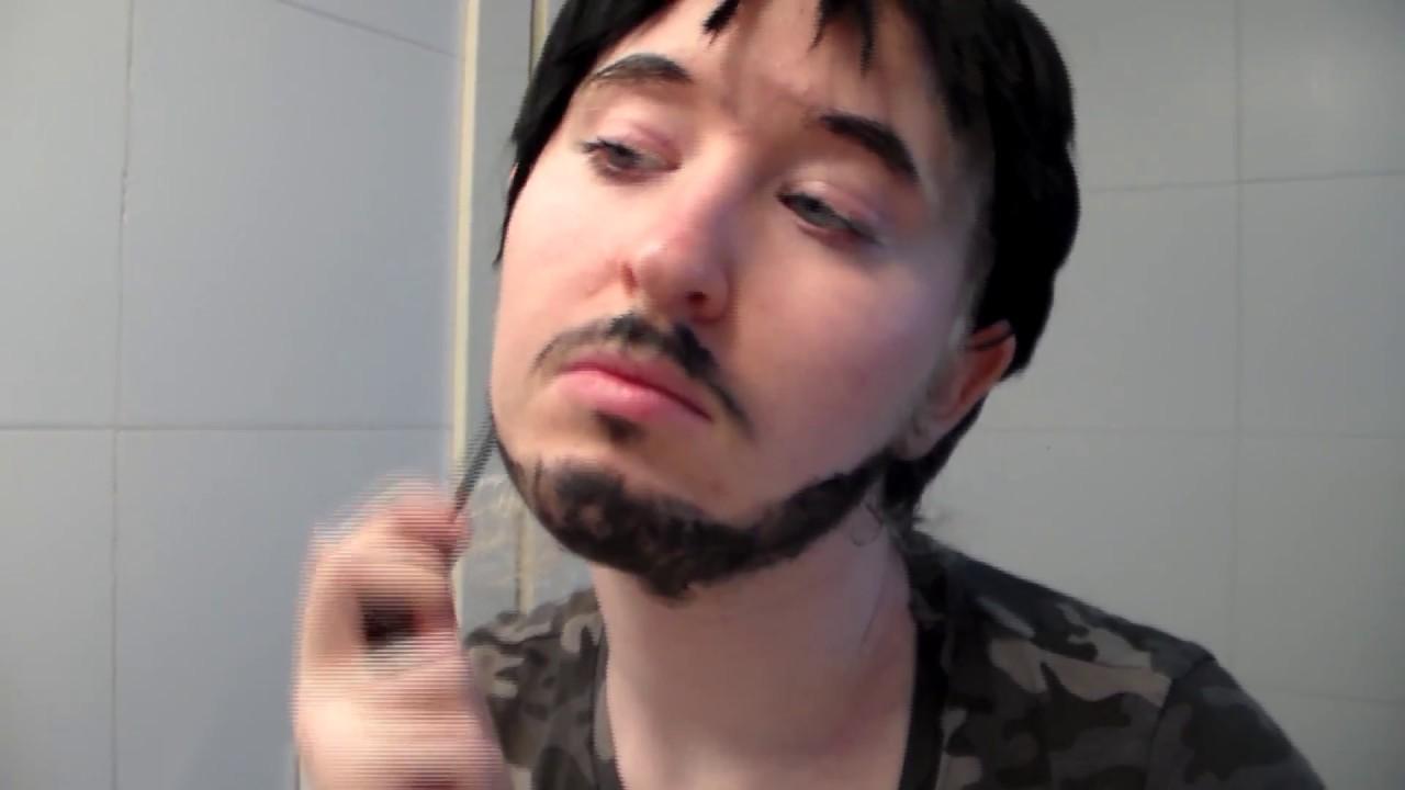 Realistic Beard Using Makeup