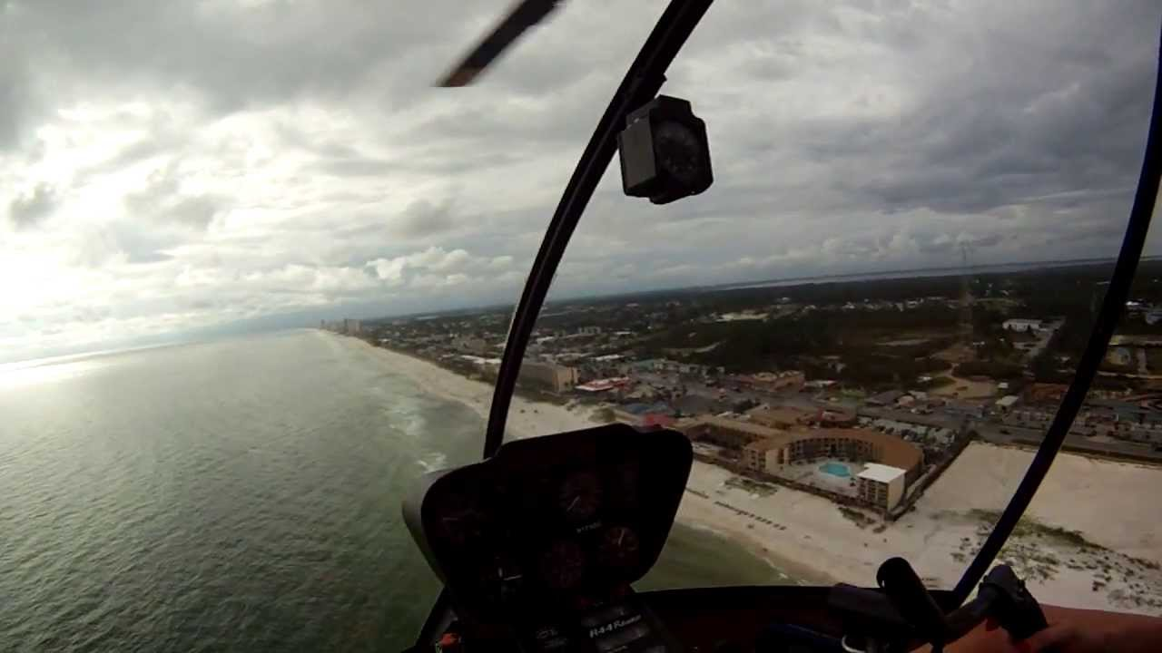Official Panhandle Helicopter Tour Over Panama City Beach Florida  YouTube