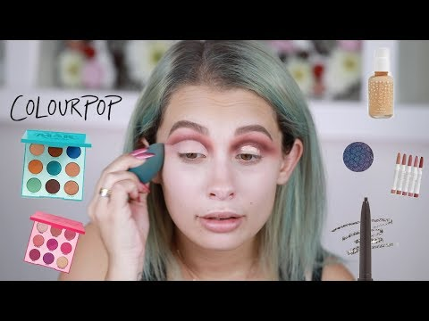 FULL FACE MAKEUP USING ONLY COLOURPOP PRODUCTS!!!