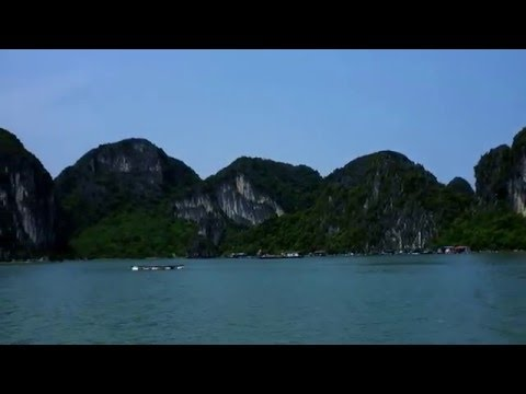 Halong bay exploration- a floating village
