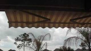 Motorized Retractable Patio Awning And Sun Shade Houston Tx Not Sunsetter