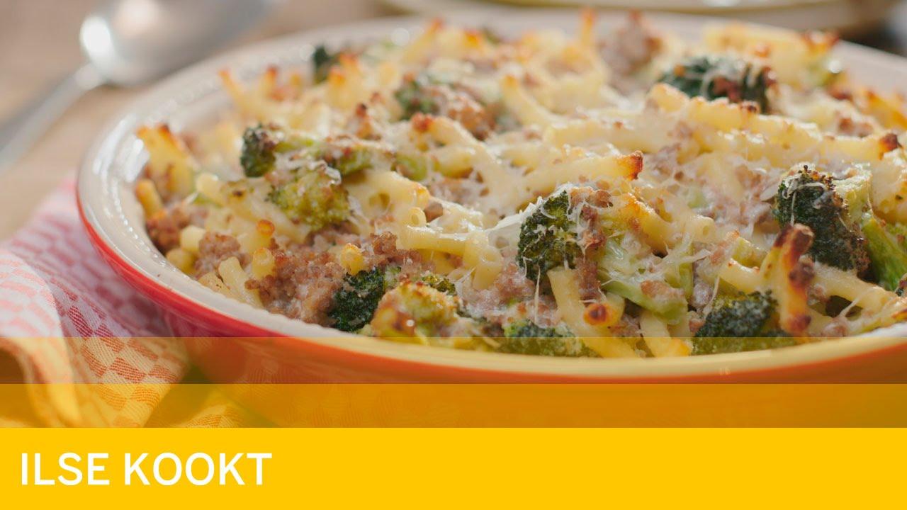 macaroni gehakt recept