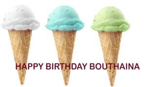 Bouthaina   Ice Cream & Helados
