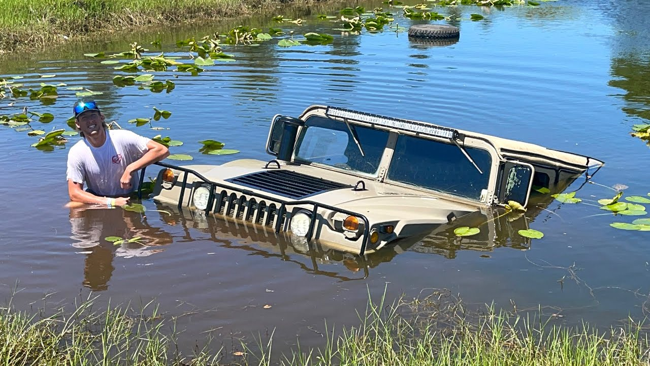 My Humvee Is Defective... (Sank It 3 Times in One Day)