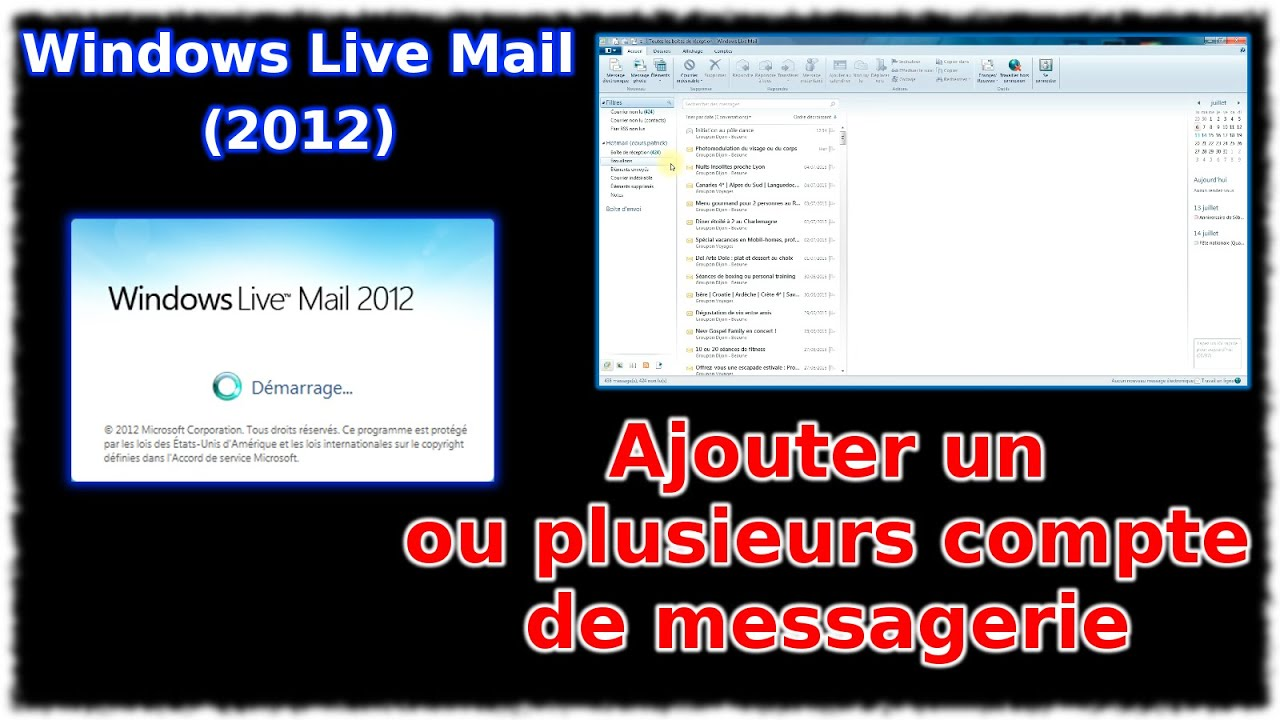how to update windows live mail 2012