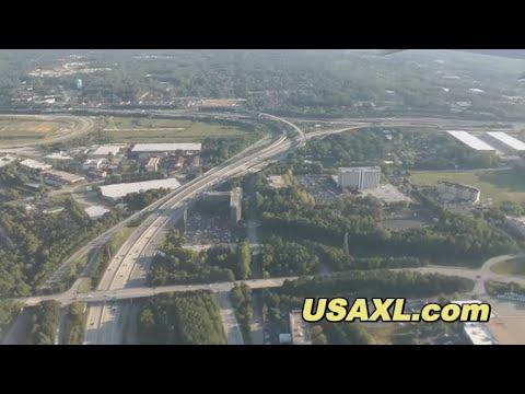 Full flight from the USA to Germany (ATL - STR)