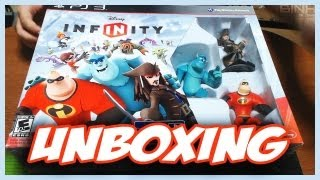 DISNEY INFINITY - Starter Pack 1 - UNBOXING - PT-BR PS3/XBOX360/WiiU