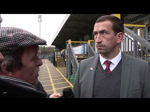 Justin Edinburgh post match iv Wycombe A 26Dec13