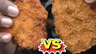 Chick-Fil-A VS Wendy's Spicy Chicken Sandwich
