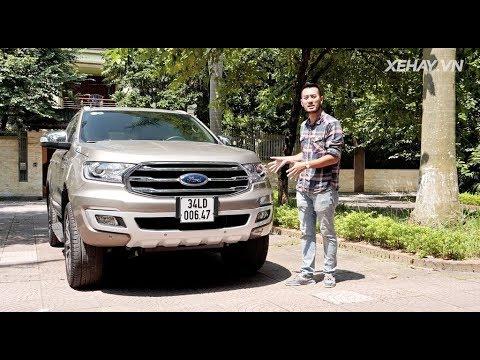 Đánh giá xe Ford Everest Titanium 4WD 2019 - Nâng cấp toàn diện (P.1) |XEHAY.VN|