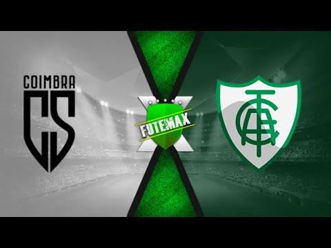 COIMBRA 0 x 2 AMÉRICA-MG AO VIVO | Campeonato Mineiro