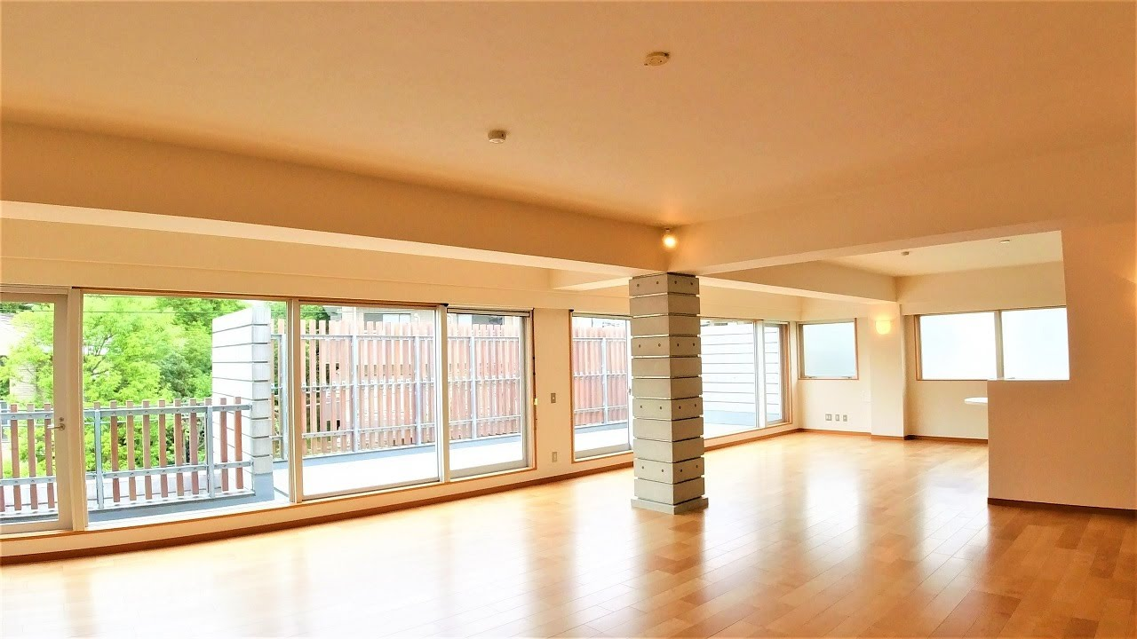 チェルシーガーデン 4LDK 238.39㎡ 高級マンション 最上階 ウッドバルコニー 低層 広尾 高級住宅街 Chelsea Garden