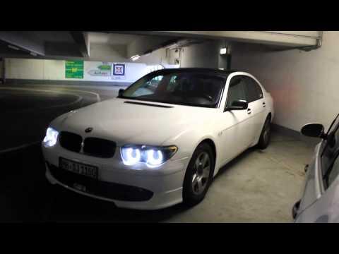 BMW 7er CSR in weiss e65 Winterreifen