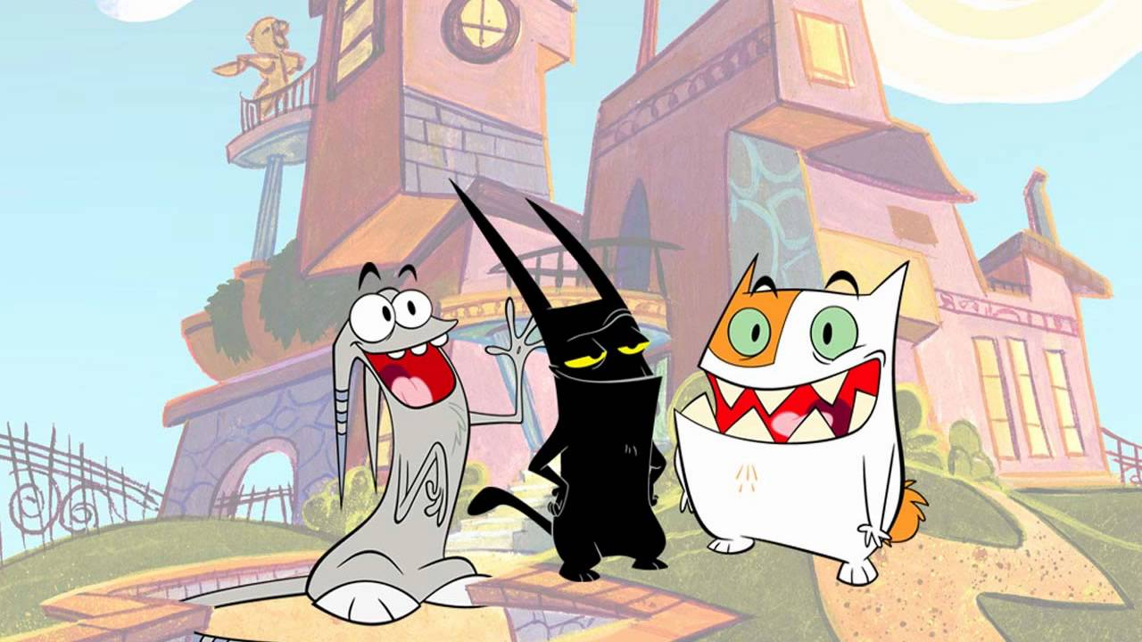 Catscratch Theme Song Intro Hq With Lyrics Youtube