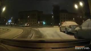 Машина упала в Карповку 21 02 2017 СПб
