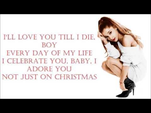 ariana-grande-~-not-just-on-christmas-~-lyrics
