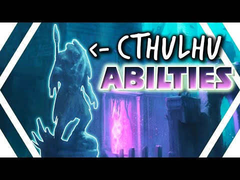 SMITE Cthulhu ABILITIES Revealed! BIGGER THAN JORM During ULT! New Info About Depthzy
