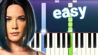 Halsey - Nightmare (100% EASY PIANO TUTORIAL)