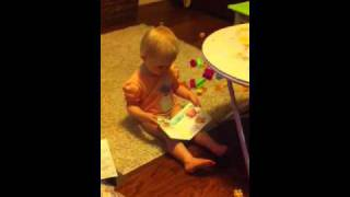 Baby Reading Potty Book