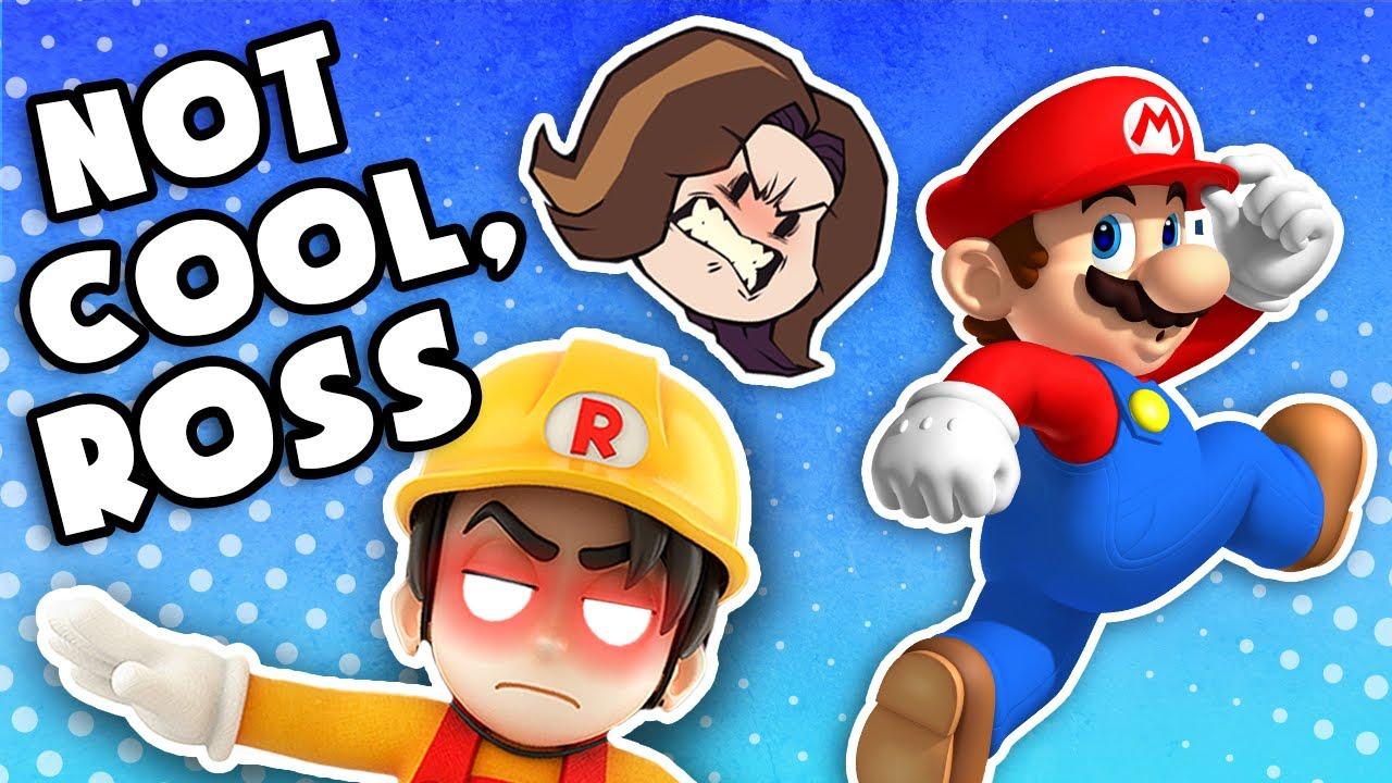 Arin suffers mental breakdown over fictitious Italian plumber's failures - Mario Maker 2