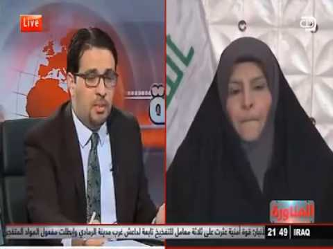 بالفيديو.. نائبة تنقل عن العبادي: امريكا وعدتني بتحرير الموصل